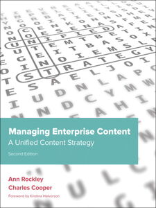 Ebook in inglese Managing Enterprise Content Cooper, Charles , Rockley, Ann