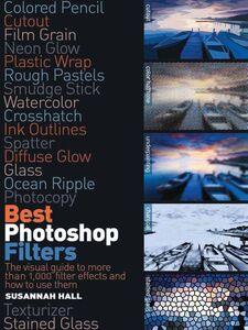 Foto Cover di Best Photoshop Filters, Ebook inglese di Susannah Hall, edito da Pearson Education