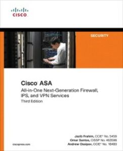 Foto Cover di Cisco ASA, Ebook inglese di AA.VV edito da Pearson Education