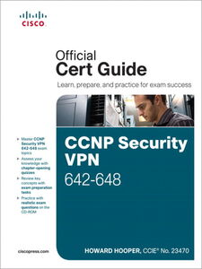 Ebook in inglese CCNP Security VPN 642-648 Official Cert Guide Hooper, Howard