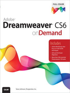 Ebook in inglese Adobe Dreamweaver CS6 on Demand Inc., Perspection , Johnson, Steve