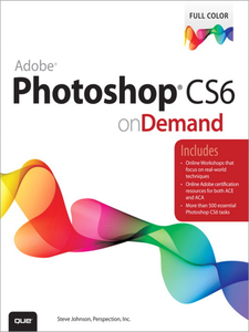 Ebook in inglese Adobe Photoshop CS6 on Demand Inc., Perspection , Johnson, Steve