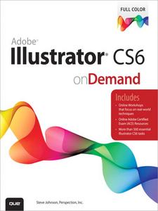 Ebook in inglese Adobe Illustrator CS6 on Demand Inc., Perspection , Johnson, Steve