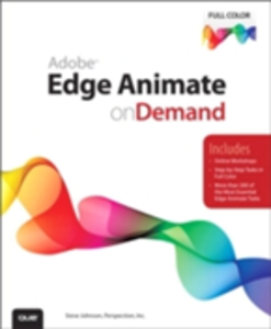 Ebook in inglese Adobe Edge Animate on Demand Inc., Perspection , Johnson, Steve