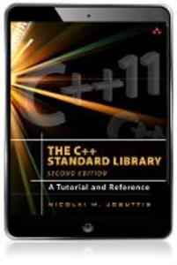 Ebook in inglese The C++ Standard Library Josuttis, Nicolai M.