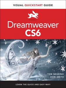 Foto Cover di Dreamweaver CS6, Ebook inglese di Tom Negrino,Dori Smith, edito da Pearson Education
