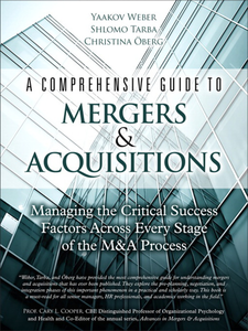 Ebook in inglese A Comprehensive Guide to Mergers & Acquisitions Weber, Yaakov