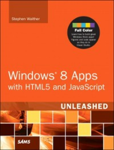 Ebook in inglese Windows 8 Apps with HTML5 and JavaScript Unleashed Walther, Stephen