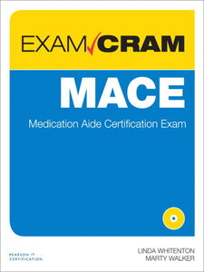 Ebook in inglese MACE Exam Cram Walker, Marty , Whitenton, Linda