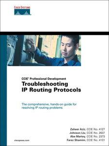 Ebook in inglese Troubleshooting IP Routing Protocols (CCIE Professional Development Series) CCIE, Abe Martey , CCIE, Faraz Shamim , CCIE, Johnson Liu , CCIE, Zaheer Aziz