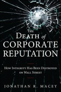 Ebook in inglese Death of Corporate Reputation Macey, Jonathan