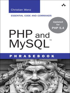 Ebook in inglese PHP and MySQL Phrasebook Wenz, Christian