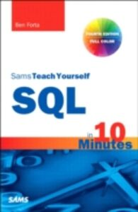 Foto Cover di SQL in 10 Minutes, Sams Teach Yourself, Ebook inglese di Ben Forta, edito da Pearson Education