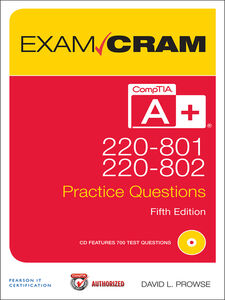 Foto Cover di CompTIA® A+ 220-801 and 220-802, Ebook inglese di David L. Prowse, edito da Pearson Education
