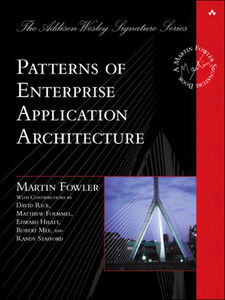 Foto Cover di Patterns of Enterprise Application Architecture, Ebook inglese di Martin Fowler, edito da Pearson Education
