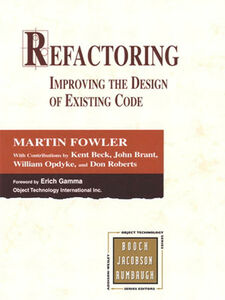 Foto Cover di Refactoring, Ebook inglese di AA.VV edito da Pearson Education