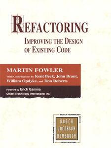 Ebook in inglese Refactoring Beck, Kent , Brant, John , Fowler, Martin , Opdyke, William