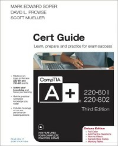 Ebook in inglese CompTIA A+ 220-801 and 220-802 Cert Guide, Deluxe Edition Mueller, Scott , Prowse, David L. , Soper, Mark Edward