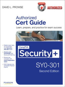 Ebook in inglese CompTIA Security+ SY0-301 Authorized Cert Guide Prowse, David L.