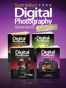 Ebook in inglese Scott Kelby's Digital Photography Boxed Set, Parts 1, 2, 3, and 4 Kelby, Scott