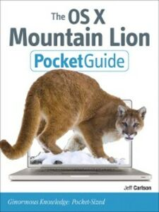 Ebook in inglese The OS X Mountain Lion Pocket Guide Carlson, Jeff