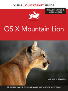 Ebook in inglese OS X Mountain Lion Langer, Maria