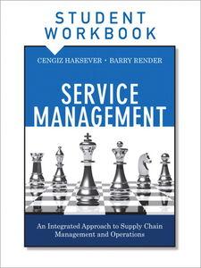 Ebook in inglese Service Management, Student Workbook Haksever, Cengiz , Render, Barry