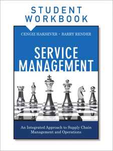 Ebook in inglese Service Management, Student Workbook Haksever, Cengiz , Render, Barry