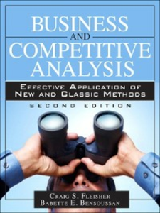 Ebook in inglese Business and Competitive Analysis Bensoussan, Babette E. , Fleisher, Craig S.