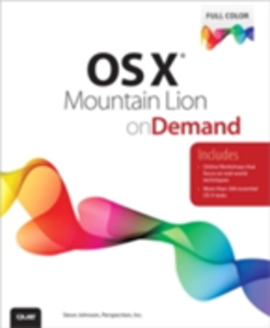 Ebook in inglese OS X Mountain Lion on Demand Johnson, Steve