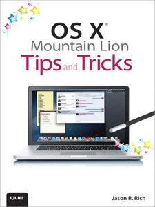 Ebook in inglese OS X Mountain Lion Tips and Tricks Rich, Jason R.