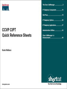 Foto Cover di CCVP CIPT Quick Reference, Ebook inglese di Kevin Wallace, edito da Pearson Education
