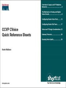 Foto Cover di CCVP CVOICE Quick Reference, Ebook inglese di Kevin Wallace, edito da Pearson Education
