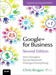 Foto Cover di Google+ for Business, Ebook inglese di Chris Brogan, edito da Pearson Education