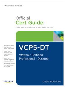 Ebook in inglese VCP5-DT Official Cert Guide Bourque, Linus