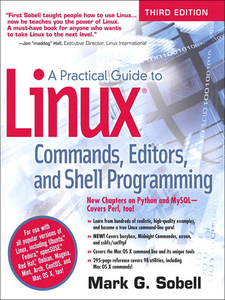 Ebook in inglese A Practical Guide to Linux Commands, Editors, and Shell Programming Sobell, Mark G.