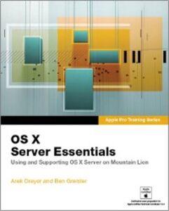 Ebook in inglese AApple Pro Training Series Dreyer, Arek , Greisler, Ben