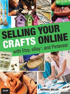 Ebook in inglese Selling Your Crafts Online Miller, Michael R.