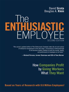 Ebook in inglese The Enthusiastic Employee Klein, Douglas , Sirota, David