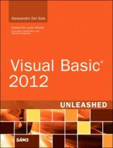 Ebook in inglese Visual Basic 2012 Unleashed Sole, Alessandro Del