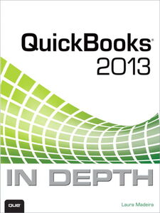 Ebook in inglese QuickBooks 2013 In Depth Madeira, Laura
