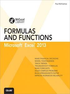 Ebook in inglese Excel 2013 Formulas and Functions McFedries, Paul