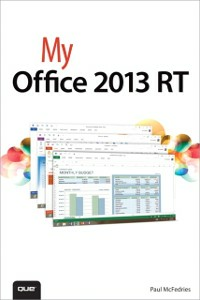Ebook in inglese My Office 2013 RT McFedries, Paul