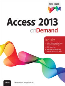 Ebook in inglese Access 2013 on Demand Inc., Perspection , Johnson, Steve