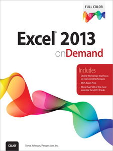 Ebook in inglese Excel® 2013 On Demand Inc., Perspection , Johnson, Steve