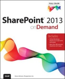 Ebook in inglese SharePoint 2013 on Demand Inc., Perspection , Johnson, Steve