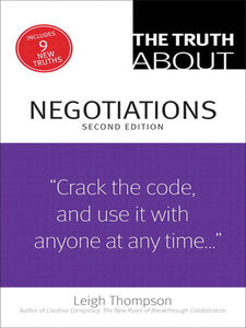 Ebook in inglese The Truth About Negotiations Thompson, Leigh