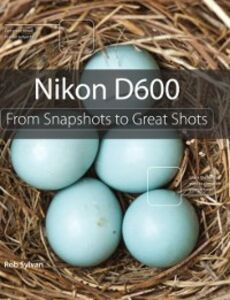 Ebook in inglese Nikon D600 Sylvan, Rob