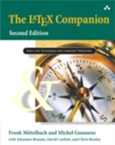 Foto Cover di LaTeX Companion, Ebook inglese di AA.VV edito da Pearson Education