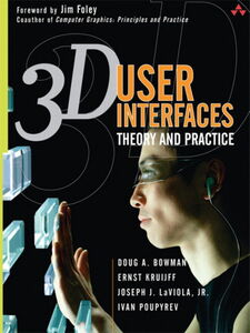 Foto Cover di 3D User Interfaces, Ebook inglese di AA.VV edito da Pearson Education